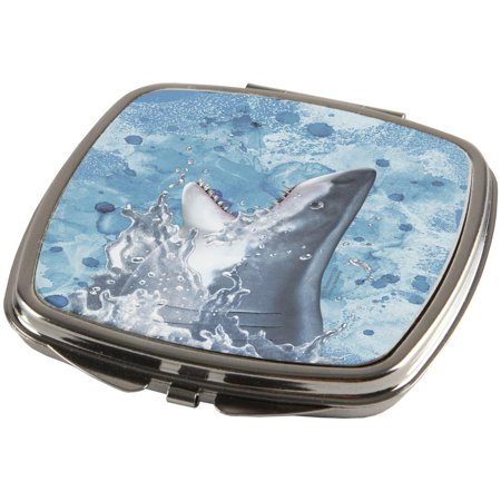 Hungry Great White Shark Breaching Compact