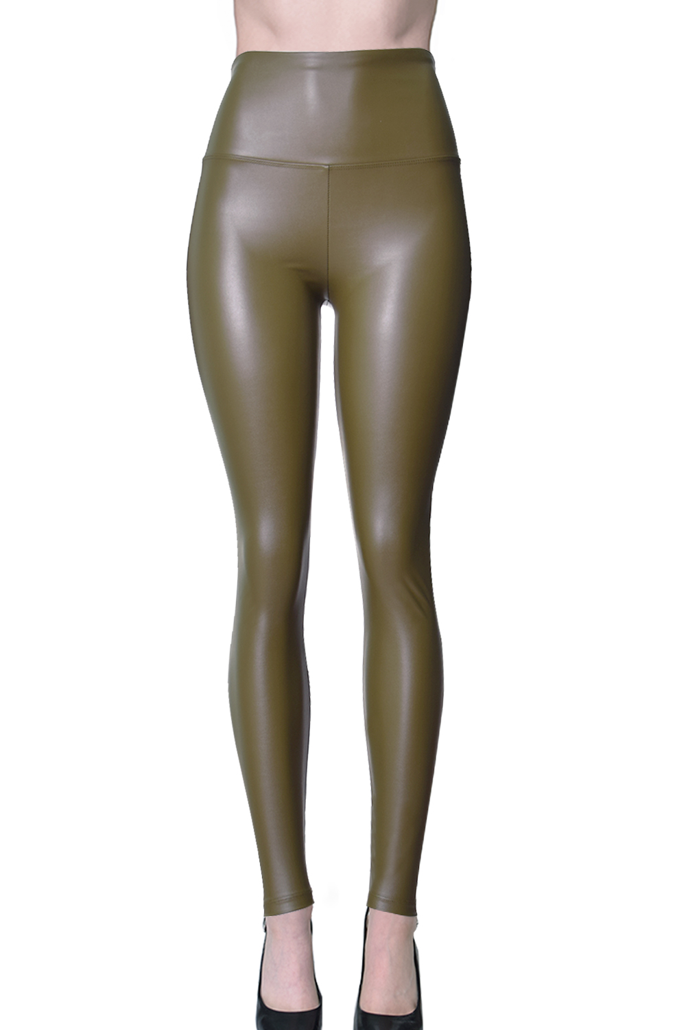9932ee1c091e6 ViV Collection - VIV Collection Womens Sexy Tight Fit Faux Leather High  Waisted Leggings (Black, S) - Walmart.com
