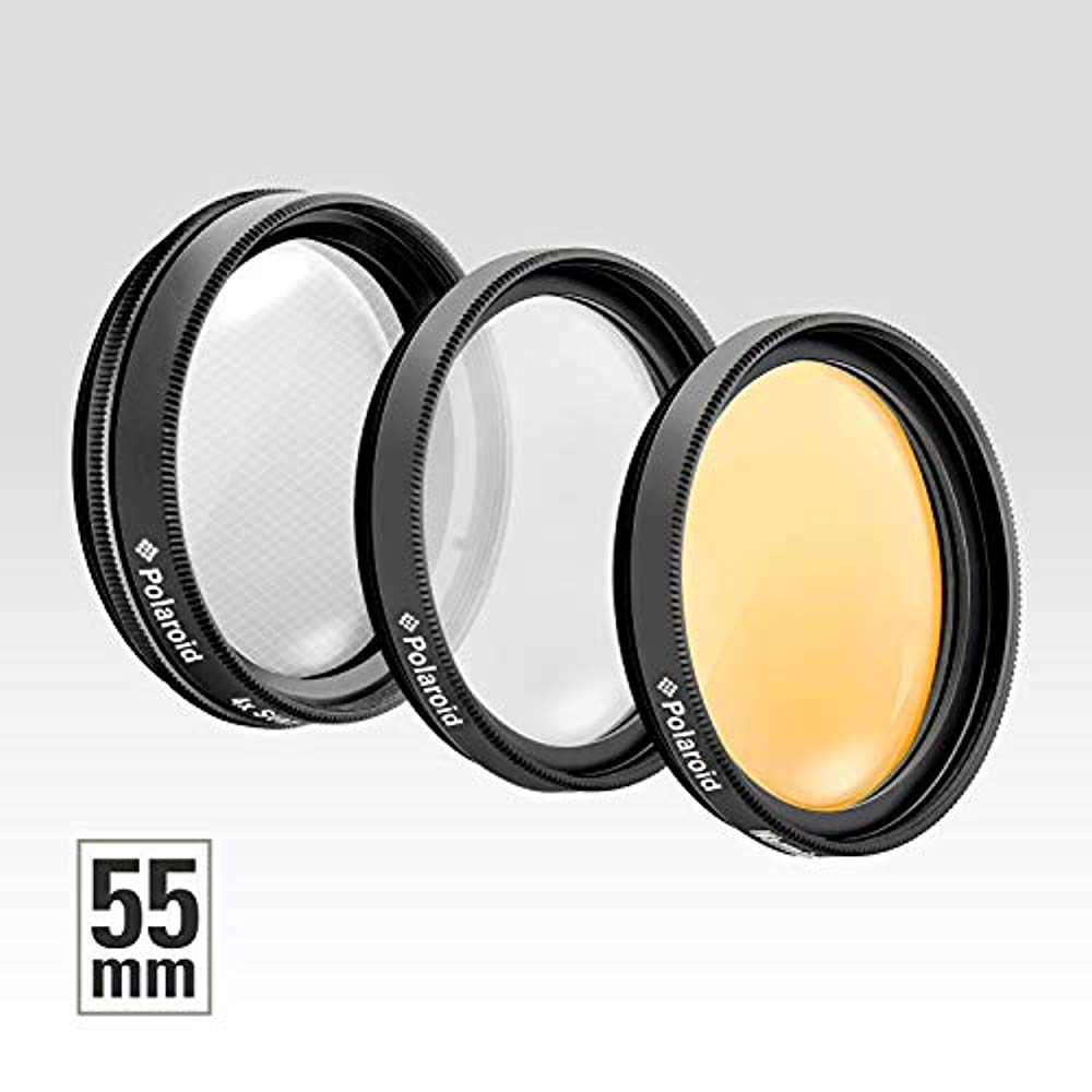 SET OF 3 55MM FILTERS SKY SOFT FOCUS AND STAR
