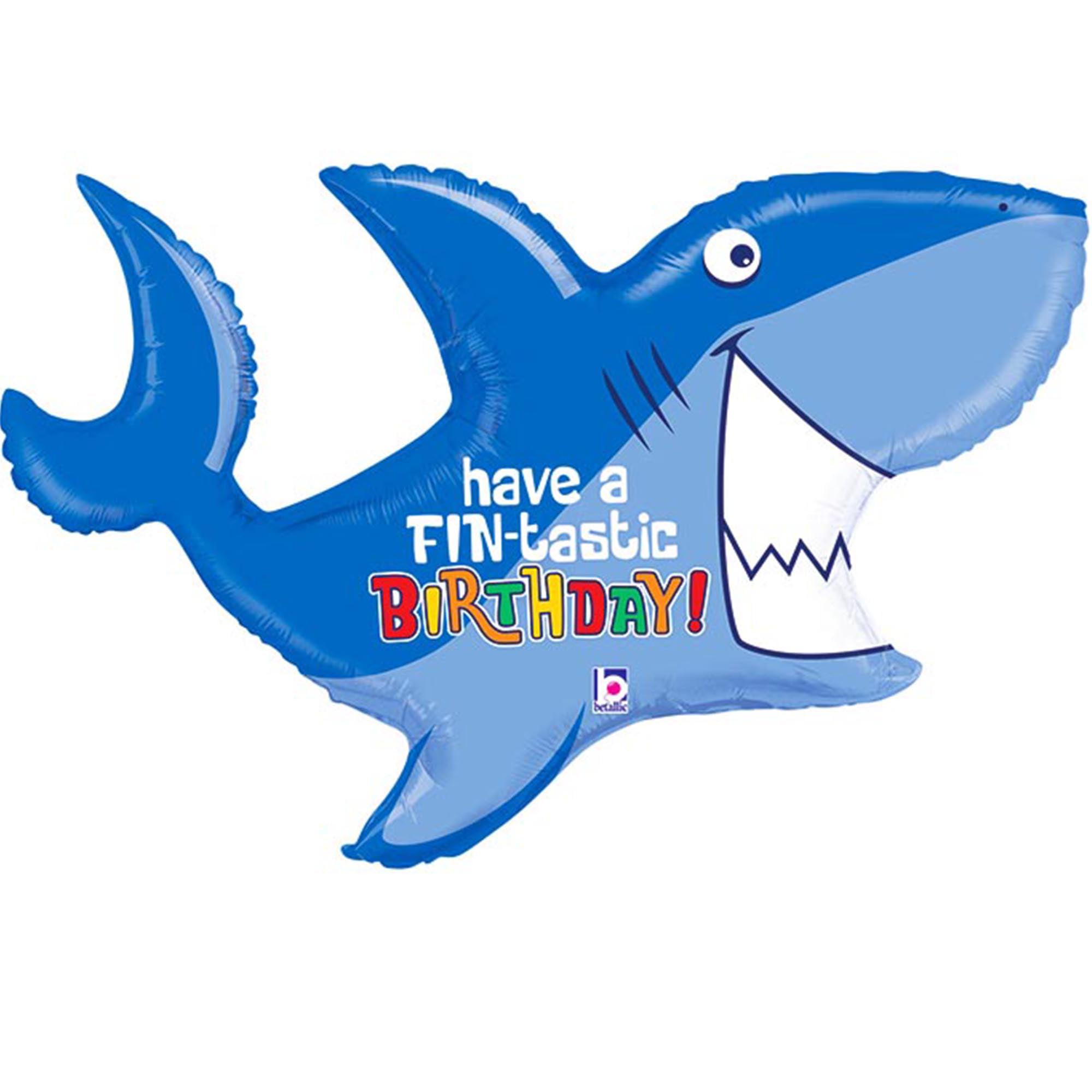 """Shark Balloon 39"""""""