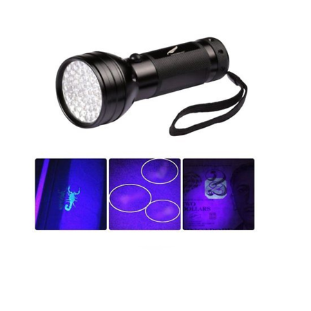 UV Blacklight Flashlight, Ultraviolet LED Black Light for Pet Urine Stain Detector Finds Dog / Cat Pee on Carpets, Rugs, any Floor or Wall (Best Way To Get Dog Pee Out Of Carpet)