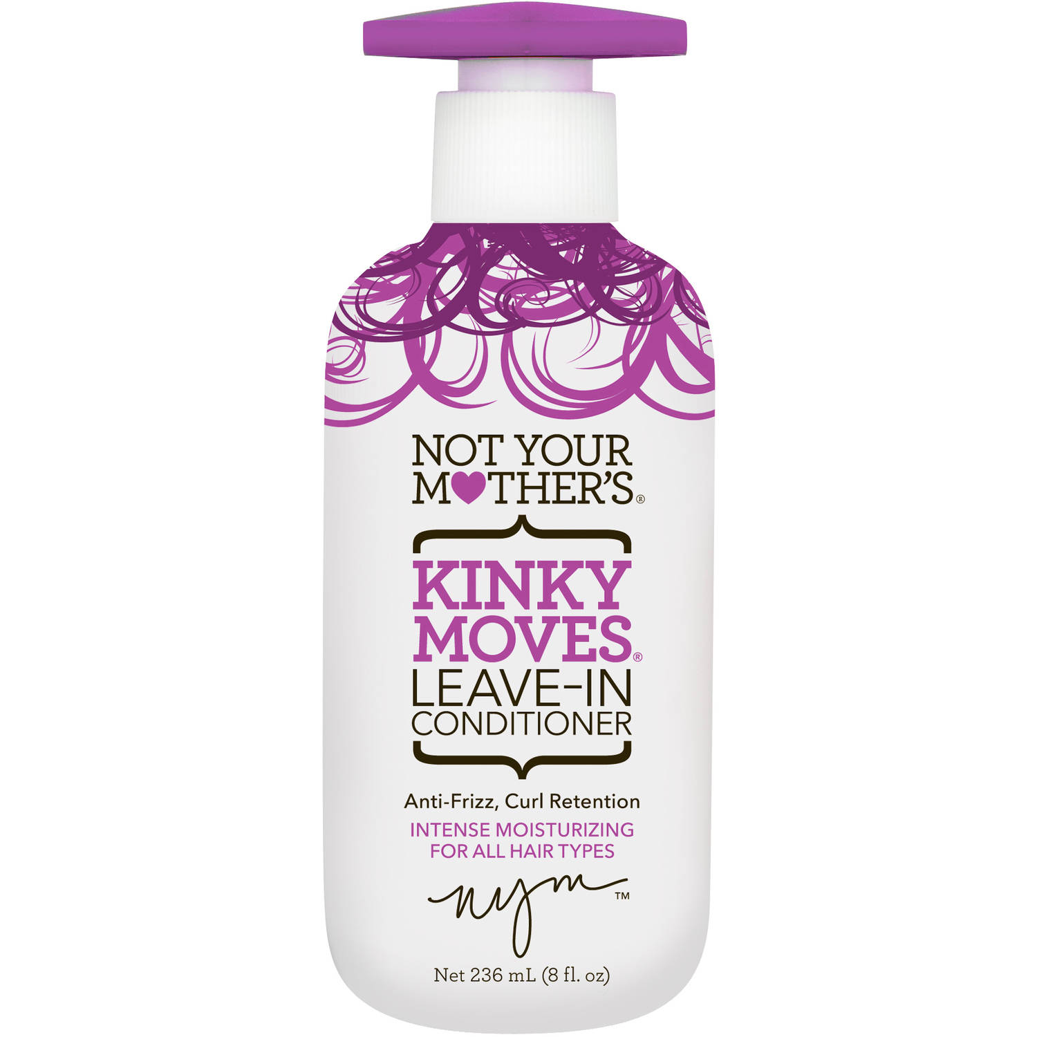 Not Your Mother's Kinky Moves Leave-in Conditioner, 8 oz