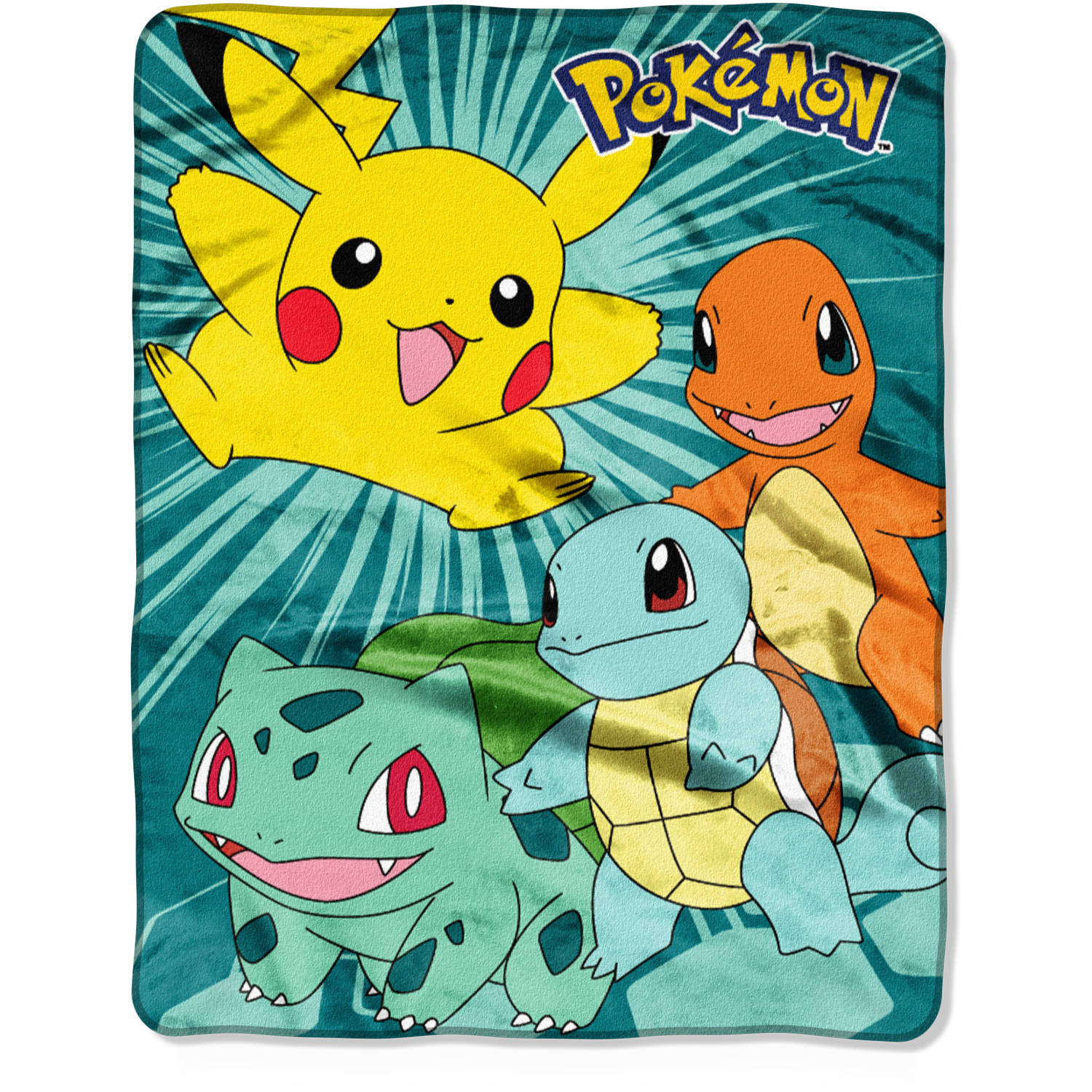 "Pokemon ""We Choose"" 40"" x 50"" Silk Touch Throw"