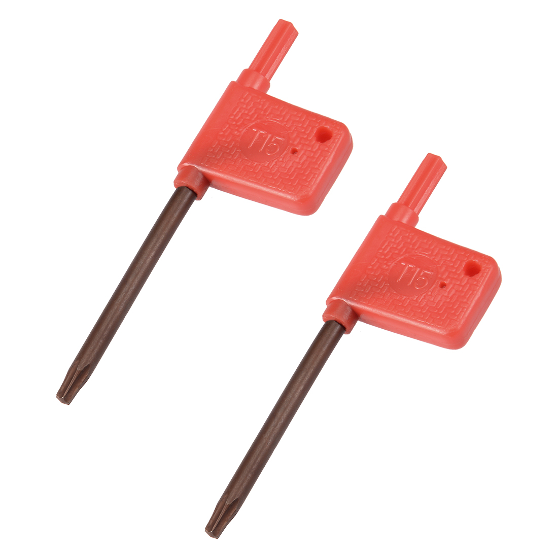 2PCS T15 S2 Flag Type Handle Driver Torx Key Wrench Spanner Screwdriver