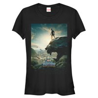 Marvel Juniors' Black Panther 2018 Epic View T-Shirt