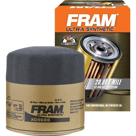 FRAM Ultra Synthetic Oil Filter, XG9688 (Fram Ultra Oil Filter Vs Mobil 1)