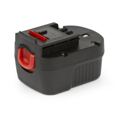 ExpertPower® 12v 1500mAh NiCd Battery for Black & Decker A12 A12-XJ A12EX A1712 FS120B FSB12 HPB12 Firestorm FS120B