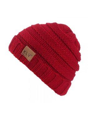 Topumt Baby Boy Girl Soft Stretch Knit Beanie Hats Outdoor Warm Caps