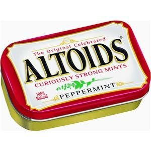 Altoids – Curiously Strong Mints