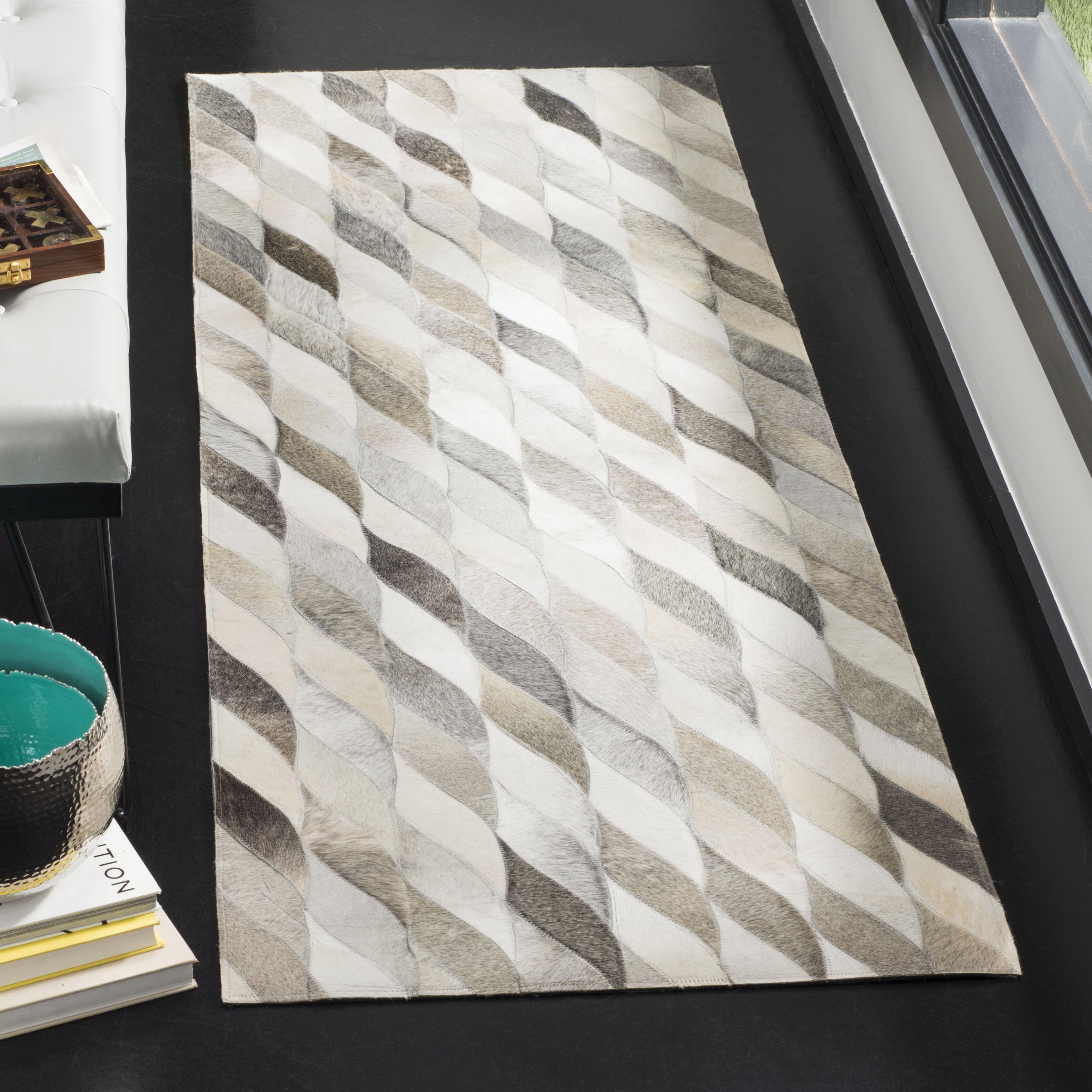 Safavieh Studio Leather Marissa Geometric Area Rug or Runner