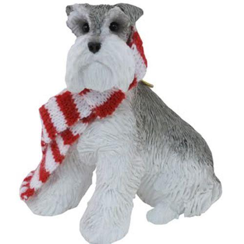 Sandicast Dog Ornaments Xso018 Gray Schnauzer