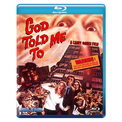 GOD TOLD ME TO (BLU-RAY) (16X9/WS/1.85:1)