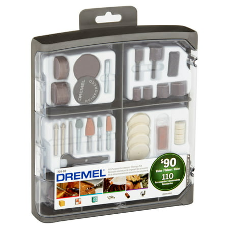 Dremel 709 02 110 Piece All Purpose Rotary Accessory Kit