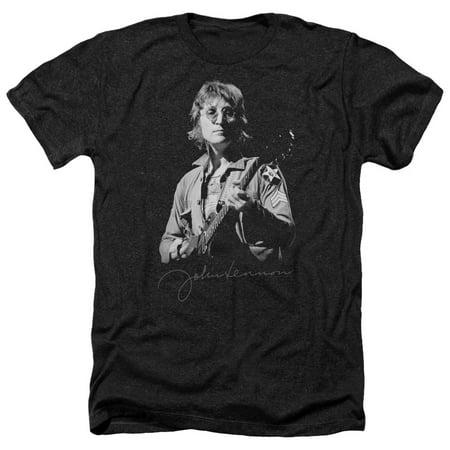 beatles men's  iconic t-shirt black