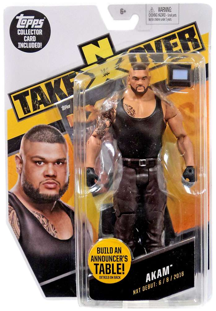 WWE Wrestling NXT Takeover Akam Action Figure by