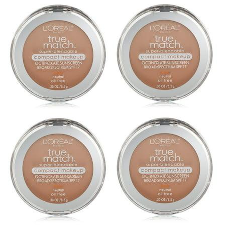 presenting hot sales fashion Loreal True Match Super Blendable Compact Makeup, Neutral ...