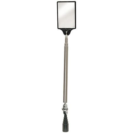 Mag-Mate 7-3/4 to 34-1/2, Telescoping Inspection Mirror, Acrylic, 321A931