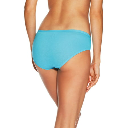 Womens Cotton Cool Comfort Hipster Panties 6 Pack