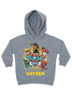 Personalized PAW Patrol Puptastic Grey Toddler Boys' Hoodie