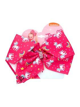 JoJo Siwa Hair Bow, Pink Unicorn
