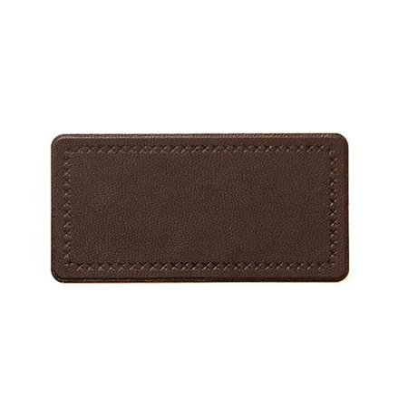 Mastaplasta Leather Patch Plain Strip Large Brown