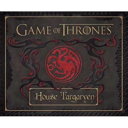 Game of Thrones: House Targaryen Deluxe Stationery Set - I Got A Rock Halloween