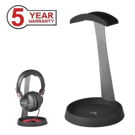 Akg K701 Headphones - Avantree Aluminum PC Gaming Headset Headphone Stand Hanger with Cable Holder for Sennheiser, Sony, Audio-Technica, Bose, Beats, AKG, Gaming Headset Display - HS102