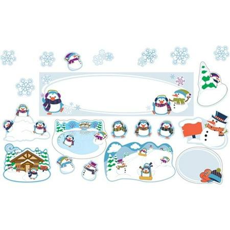 Winter Mini Bulletin Board Set (Cute Winter Sayings For A Bulletin Board)
