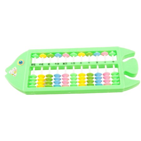 Fish Shaped Plastic Frame Calculation Chinese Abacus