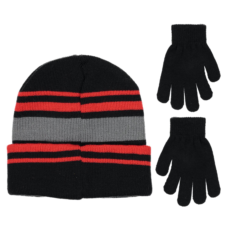 419603102b84f Disney - Disney Mickey Mouse Boys Beanie Winter Hat Glove Set - Walmart.com