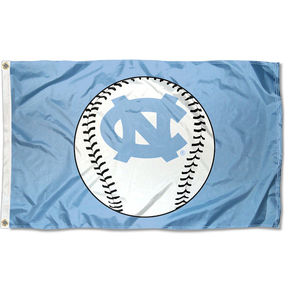 North Carolina Tar Heels Baseball 3' x 5' Pole Flag