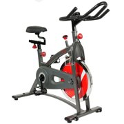 Belt Drive Indoor Cycling Bike Exercise Bike w  LCD Monitor by Sunny Health & Fitness SF-B1423 by Sunny Health & Fitness