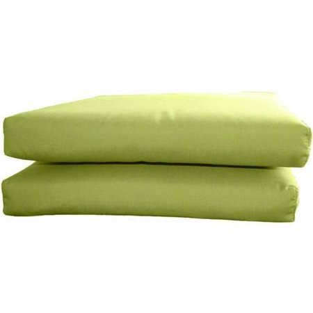 Sunbrella Designer Knife Edge Seat Cushions Set Of 2