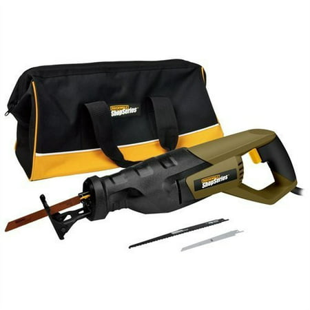 Rockwell Shopseries 8 Amp Variable Speed Reciprocating Saw Kit, (Rockwell Versacut Mini Circular Saw Kit With Laser)