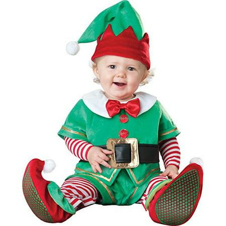Baby Santa's Little Helper Elf (Santa's Little Helper Costume)