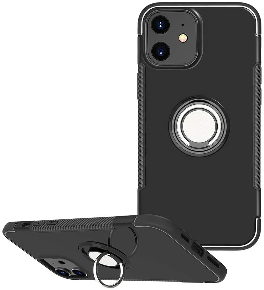 for Samsung Galaxy S20 Plus|S20 Ultra case Hard Shell Military Cover with Holder Stand 360/° Ring Grip for Magnetic Car Mount