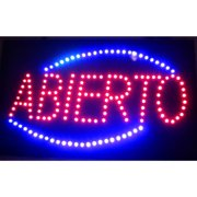 Neonetics Abierto LED Sign