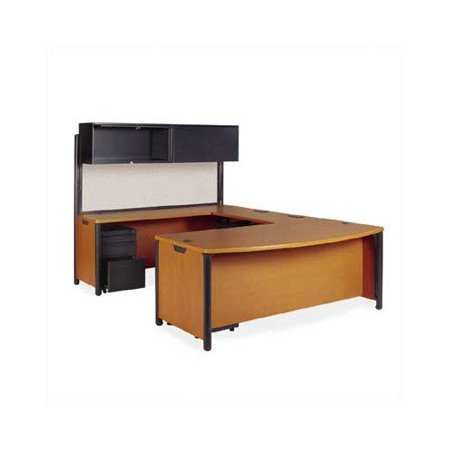 Virco Plateau U Shape Computer Desk Hutch Pedestal 7720 Product Photo