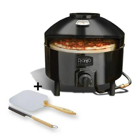 pizzacraft pizzeria pronto outdoor pizza oven - pc6000 and pizzacraft pizza oven accessories/folding peel & stone brush - pc0217 ()