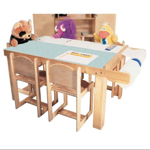 Strictly for Kids Art Table with Paper Dispenser and Lami...