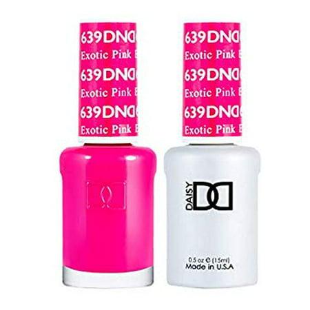 DND Nail Polish Gel & Matching Lacquer Set- 639 EXOTIC (Gel Nail Polish Vs Regular Nail Polish)