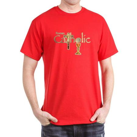 39c6add0c CafePress - CafePress - Proud To Be Catholic Dark T Shirt - 100% Cotton T- Shirt - Walmart.com