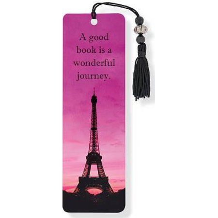 Beaded Bookmark: Eiffel Tower Beaded Bookmark (Other) (Display Case For Bookmarks)