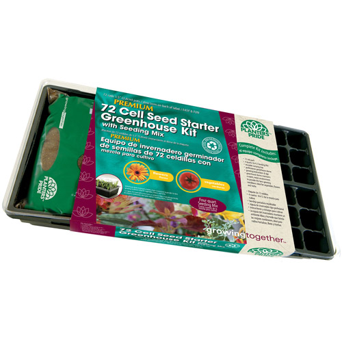 Planters' Pride 72-Cell Seed Starter Greenhouse Kit