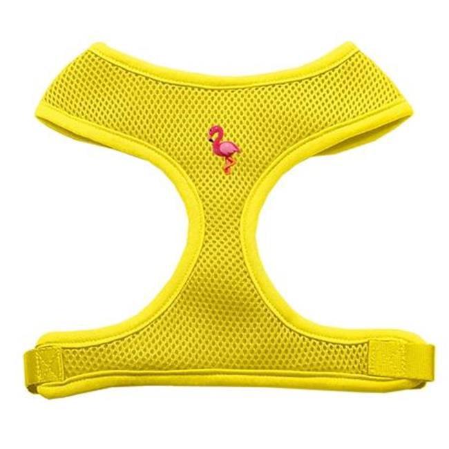 Pink Flamingo Chipper Yellow Harness Small - image 2 de 2