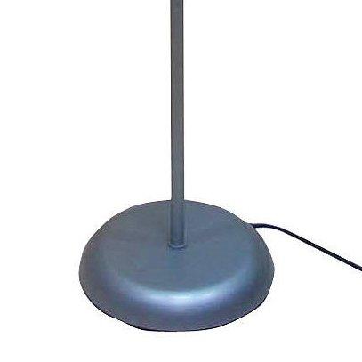 "Mainstays 71"" Floor Lamp, Silver"