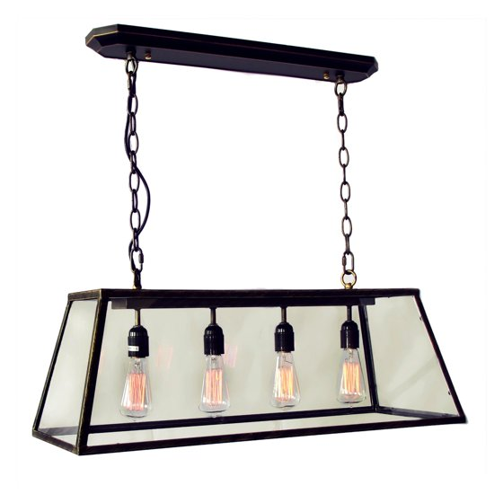 Carver Pool Table Light At Hayneedle: Warehouse Of Tiffany Edison LD-4011 Island Light