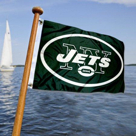 NY Jets Boat and Nautical Yacht Pennant Flag