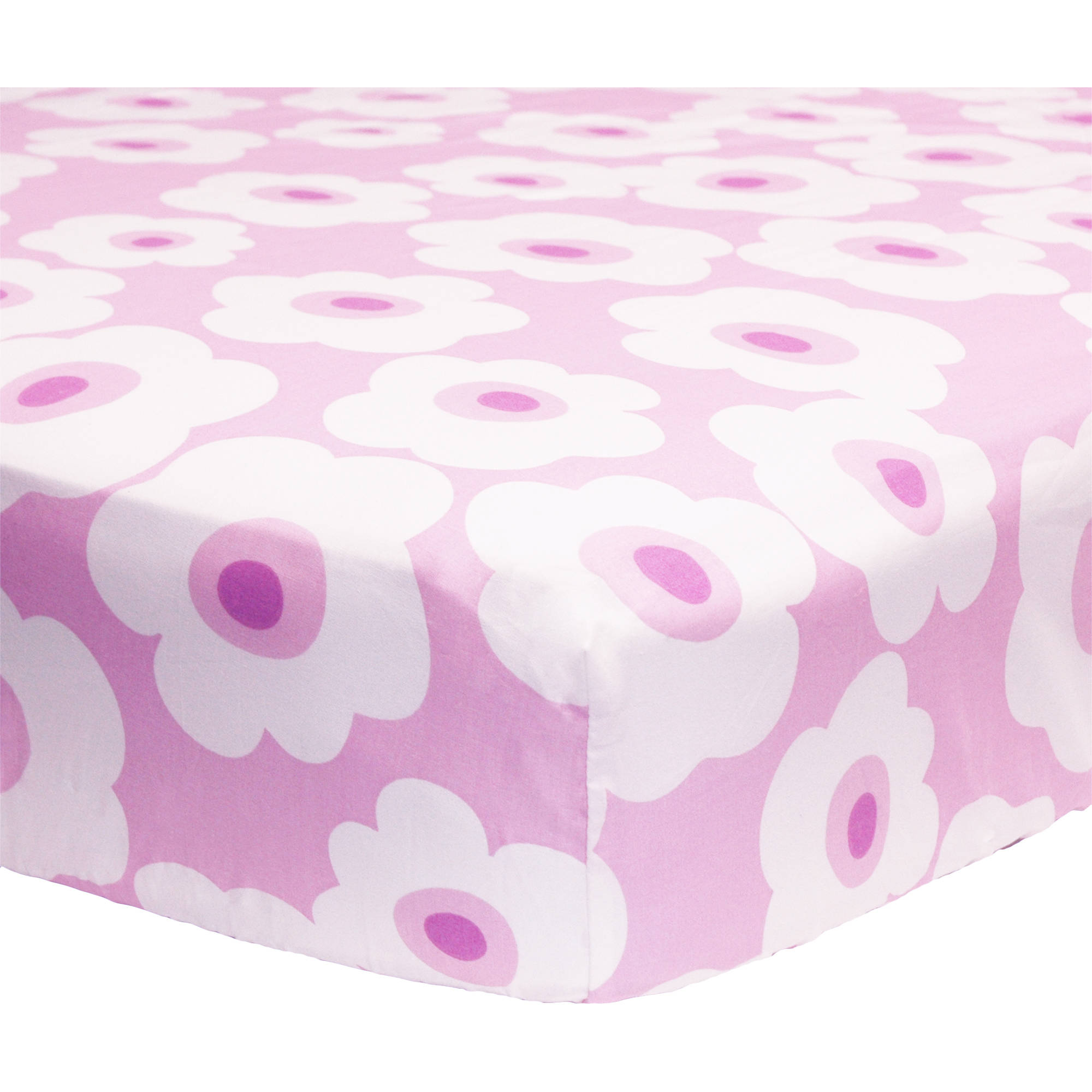 Dancing Owl Fitted Crib Sheet