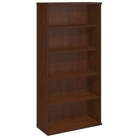 Series C 2 Piece Corner Desk and Shelf Bookcase Set in Hansen Cherry - image 5 de 12